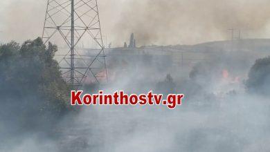 Photo of ΤΩΡΑ: Σε εξέλιξη φωτιά στο Κοκκώνι Κορινθίας – Κοντά σε σπίτια