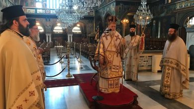 Photo of Θεία Λειτουργία στον Ι.Ν. Απ. Παύλου κεκλεισμένων των θυρών (εικόνες)