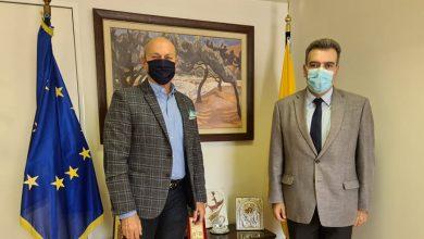 Photo of Συνάντηση εργασίας πραγματοποίησε ο Δήμαρχος Λουτρακίου -Περαχώρας -Αγίων Θεοδώρων κ. Γεώργιος Αλκ. Γκιώνης με τον Υφυπουργό Τουρισμού κ. Μάνο Κόνσολα