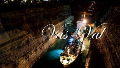 "Photo of ΤΩΡΑ: Πλοίο ""κόλλησε"" στον Ισθμό της Κορίνθου λόγω κατολίσθησης (Video-φώτο)"