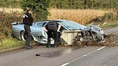 Photo of Τρομερό ατύχημα με συλλεκτική Jaguar