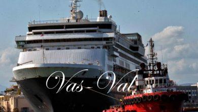 Photo of Πραγματοποιήθηκε η ρυμούλκηση του κρουαζιερόπλοιου AEGEAN MAJESTY στο λιμάνι της Κορίνθου
